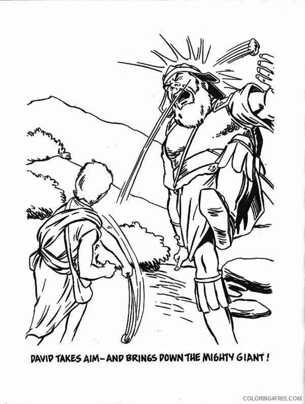 David And Goliath Coloring Pages David And Goliath Coloring Pages Bible Story Coloring4free Superhero Coloring Pages Coloring Pages Mermaid Coloring Pages