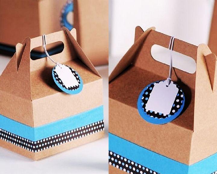 Best 25 cajas para cupcakes ideas on pinterest - Como hacer una caja de carton ...