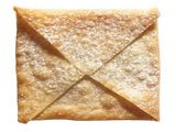 Wonton Envelopes Recipe - says to add jelly in the middle but could add nutella instead maybe, sounds good either way.