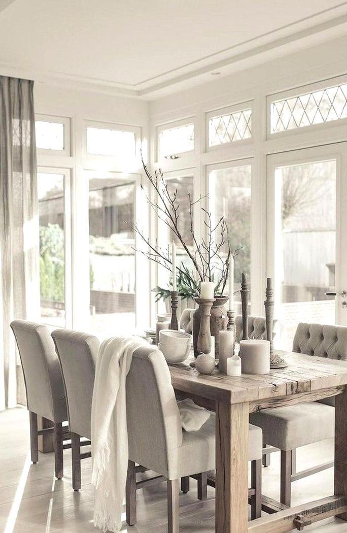 75 Modern Farmhouse Dining Room Decor Ideas Home Accessories