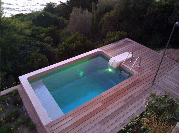 17 migliori idee su piscine piccole su pinterest piscina per bambini casa di cortile e - Piscine interrate prezzi chiavi in mano ...