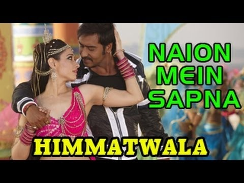 """""""Naino Mein Sapna   HIMMATWALA Official Song - Director Sajid Khan launched the superhit song 'tathaiya tathaiya' from his upcoming remake Himmatwala on the sets of Nach Baliye 5 recreating the '80s again. The youtube trailer of the song is out and we must say its worth a watch.    For more Bollywood news and gossip  http://www.youtube.com/show/bol..."""