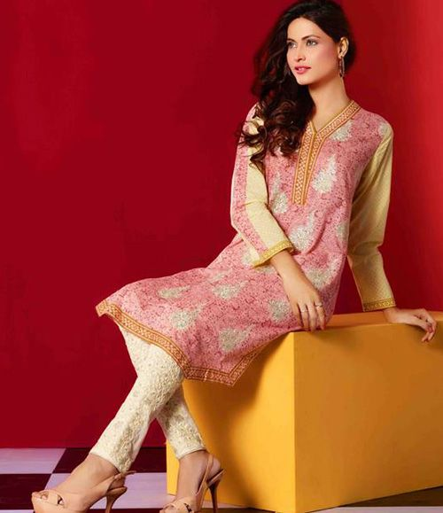 Tawwakal Festive Embroidered Kurtis Collection SBT_405B