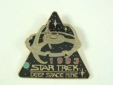 Star Trek Pin Deep Space Nine 1993 Season 1992 Hollywood Pins Metal Cloisonne
