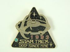 Star Trek Pin Deep Space Nine 1993 Season 1992 Hollywood Pins Metal Cloisonne