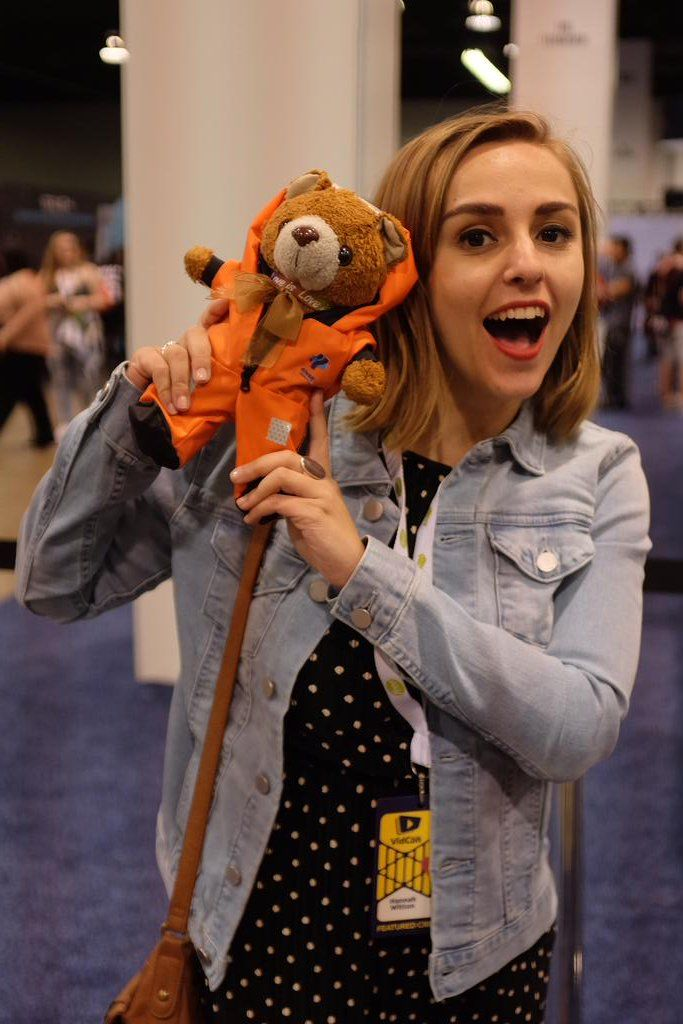 @hannahwitton this little guy had a fantastic time :)  Hannah Witton (@hannahwitton) | Twitter
