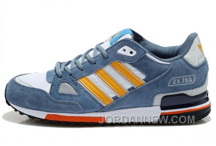 http://www.jordannew.com/adidas-zx750-men-grey-blue-yellow-free-shipping.html ADIDAS ZX750 MEN GREY BLUE YELLOW FREE SHIPPING Only $74.00 , Free Shipping!
