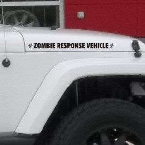 Zombie-Response-Vehicle-fender-Sticker-Decal-for-jeep-4x4-Truck-Car-Matte-Black-0