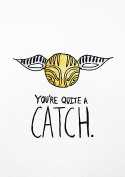 Just sayin, I'd die if my boyfriend or significant other ever gave me a snitch necklace and told me this.