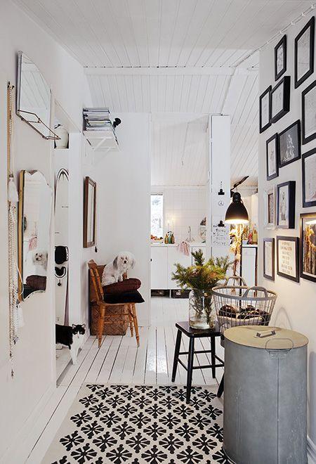 Ideas para decorar con un taburete