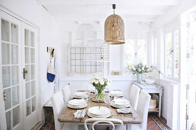 PON UNA VAJILLA BLANCA EN TU VIDA y haz una mesa así de bonita!