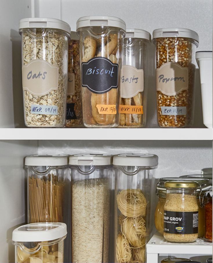 Pantry Storage Containers Ikea: 10 Practical Pantry Storage Ideas