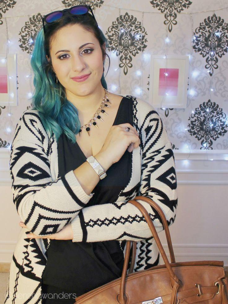 ▲ OOTD: Aztec Vibes ▲#KIABI #Sheinside #persun #birkin #mermaidhair #bluehair #bluhair #mermaid #look #LOOKBOOK #Springlookbook #winterlookbook #capelliblu #capelliazzurri #tealhair #hairgasm #OOTD #Outfit #classy  #wanderlust #tumblr #youtubelife #roomspiration #serenawanders #serenaloserlikeme #serena #wanders #youtuber #fashion #fashionblogger #youtubelookbook #newvideo #aztec #casual #statementnecklace #studs