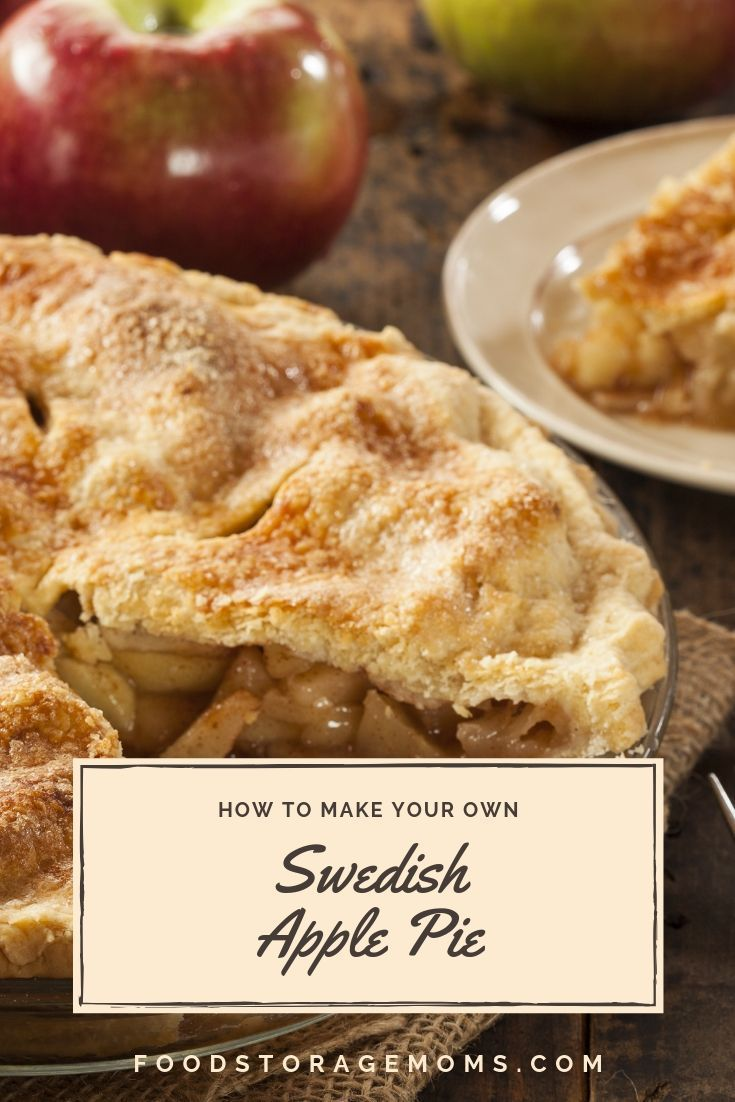 This Is A Quick And Easy Way To Make A Swedish Apple Pie Recipe You Will Love To Make When I Was A L Swedish Apple Pie Apple Pie Recipe Easy