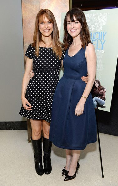 Director Lynn Shelton (L) and actress Rosemarie DeWitt attend the Touchy Feely Los Angeles Screening at the Landmark Theater on August 20, 2013 in Los Angeles, California.