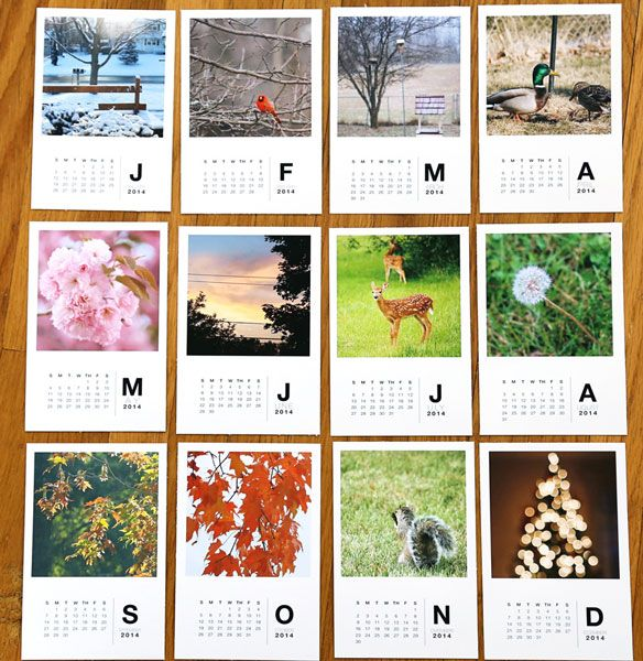 2014 desk calendar Paislee Press