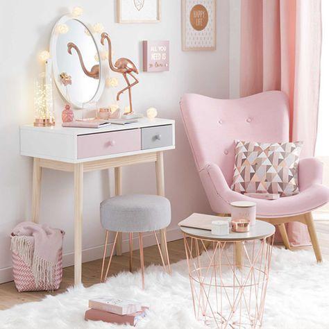 Die besten 25+ Rosa mädchen zimmer Ideen auf Pinterest Rosa - gestalten rosa kinderzimmer kleine prinzessin