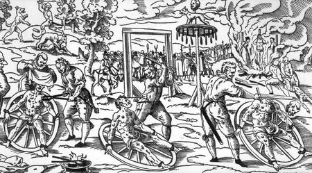 Medieval Torture Devices In Medieval times, they sought out ways to cut back on crime. Instead of letting the criminals sit in a jail cell, like today, they would use different torture devices. These...