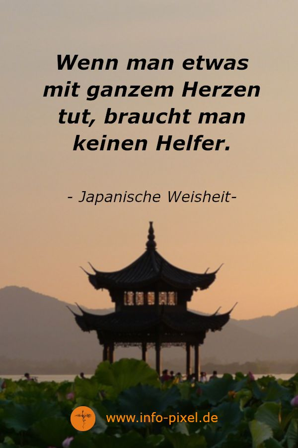 Japanische Weisheit | Zen-Buddhismus Lebensfreude & Glück