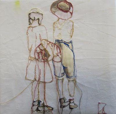 "Textil Kunst: am Meer ""Near the Sea,"" Rita Zepf"