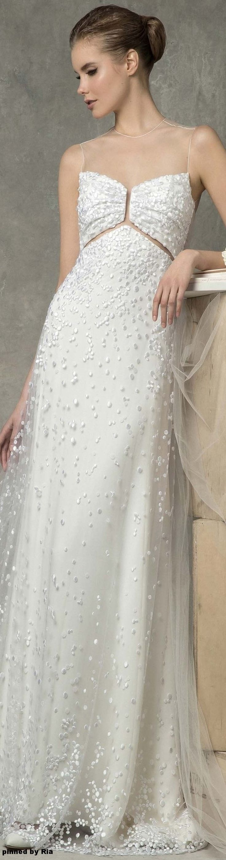 Angel Sanchez Bridal Spring 2017 l Ria V