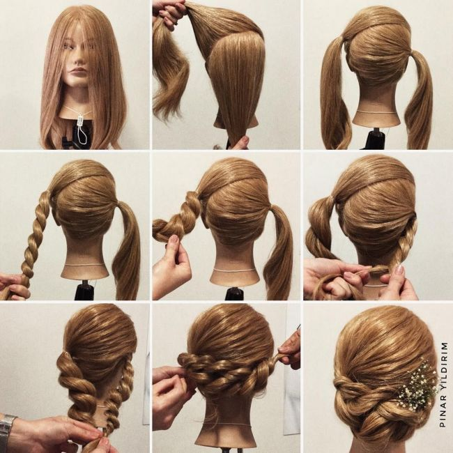 coiffure, tresse