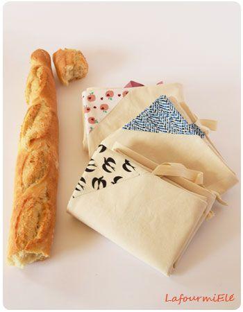 New : sacs à  pain en coton beige et appliqués colorés ! #durable #sacentissu #eshop #etsy #madeinfrance