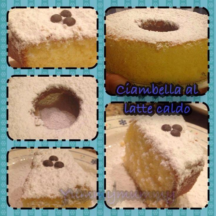 La ricetta facilissima della torta al latte caldo con bimby