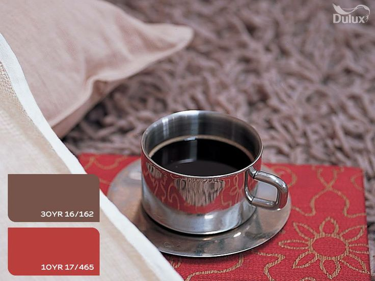 #coffee #dulux #goodmorning #brown #red #homedecor #paint