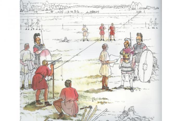 replanteo romano