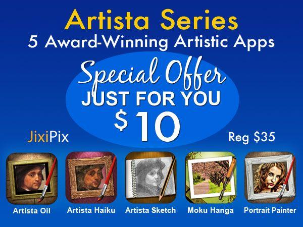 Artista Series Bundle (MAC & WINDOWS): 5 Apps for $10
