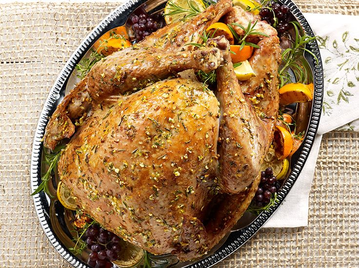 ROSEMARY CITRUS HERB TURKEY Fresh herbs and citrus zest flavor this ...