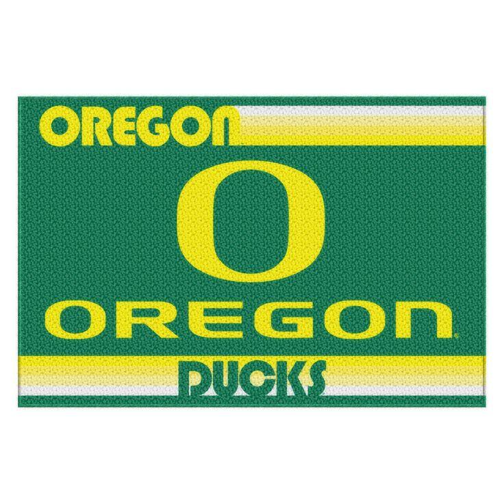 "Oregon College """"Old Glory"""" 39x59 Acrylic Tufted Rug"