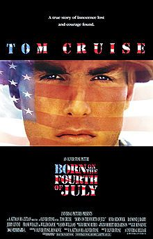 Born on the Fourth of July - Paralyzed in the Vietnam war, Ron Kovic becomes an anti-war and pro-human rights political activist. Based on a true story.