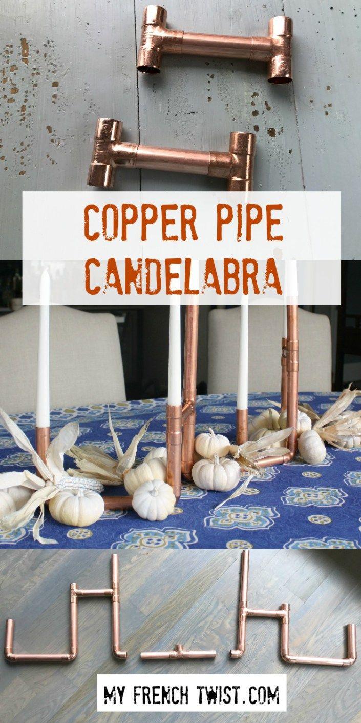 copper pipe candelabra - myfrenchtwist.com