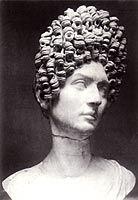 Roomalaisen naisen rintakuva, 90 (jaa), antiikin Rooma