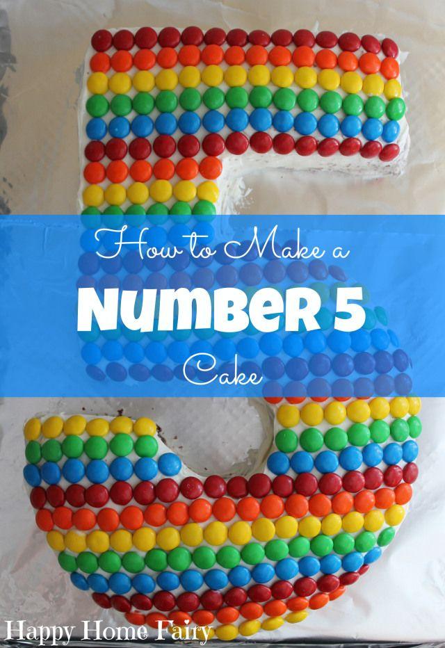 wie man einen Kuchen der Nr. 5 bei happyhomefairy.com.jpg bildet   – bakery
