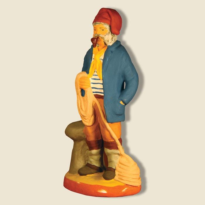 Wish: Bargee; Santons Fouque collection 9 cm