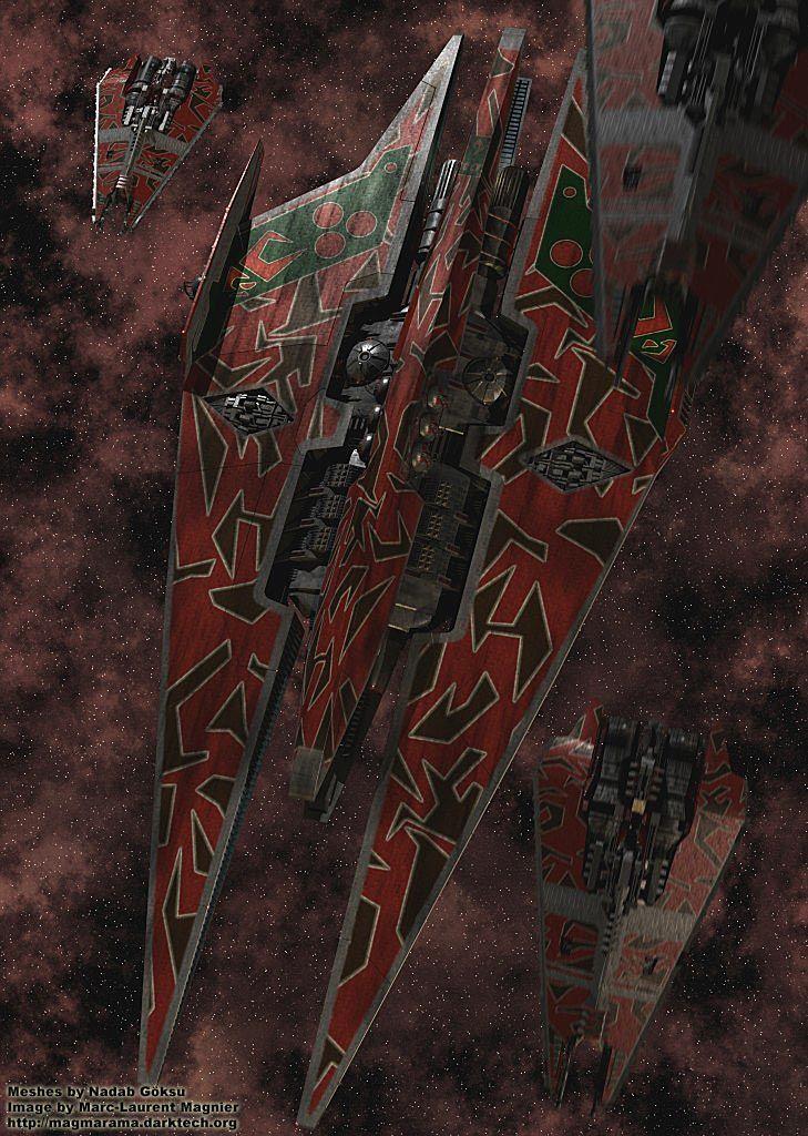 Narn capital ship. Babylon 5