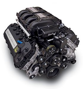 Edelbrock.com - Crate Engines - Ford 5.0L Coyote - Supercharged 5.0L Crate Engine - (700 HP & 606 TQ)