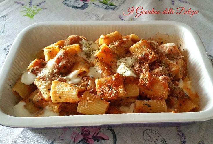 Pasta+con+crema+di+pomodori+al+forno