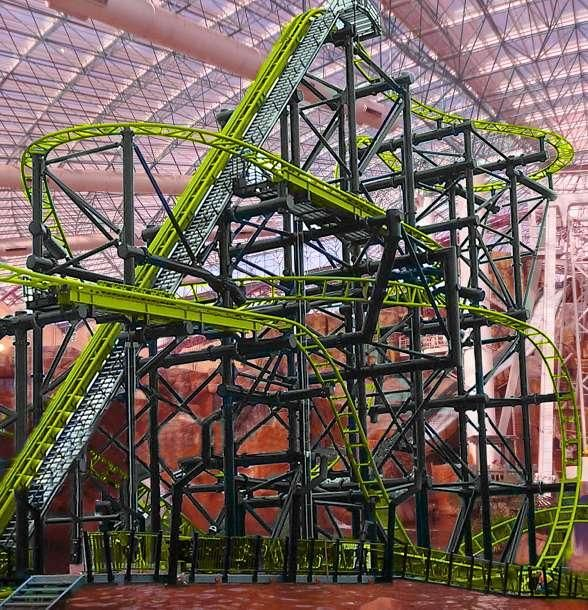 World-Class, Record-Breaking Roller Coaster Speeding to Adventuredome at Circus Circus Las Vegas