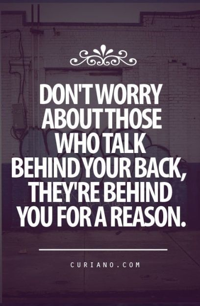 It's all about the gossip. Don't look back #quotes #inspiration