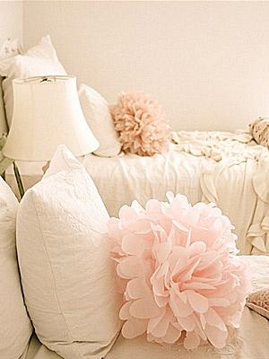 Κοριτσίστικο δωμάτιο: Διακοσμητικά μαξιλάρια