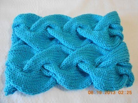 Infinitive short scarf (Spanish) part 2: finishing the work