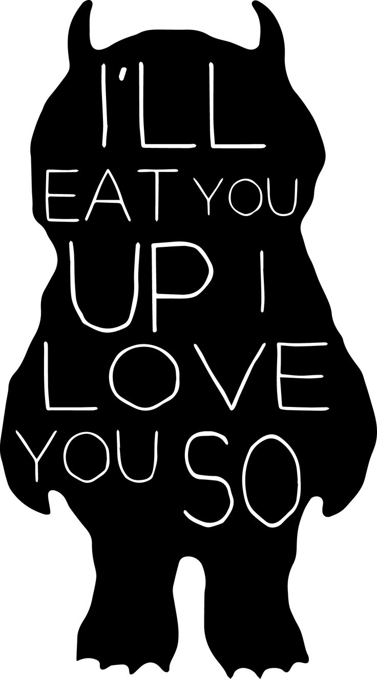 where the wild things are quotes i'll eat you up - Google Search