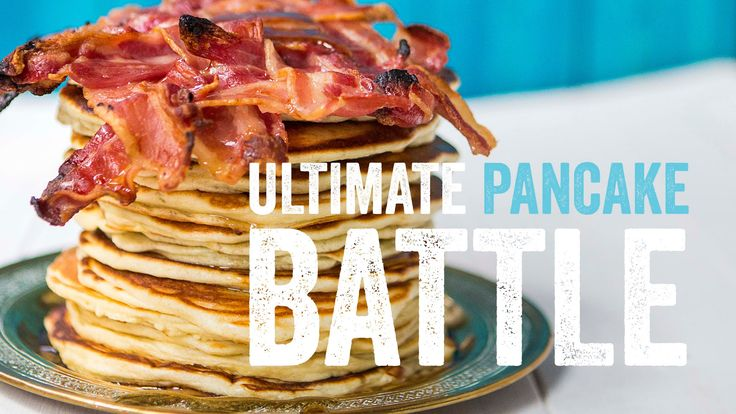 THE ULTIMATE PANCAKE BATTLE | SORTED