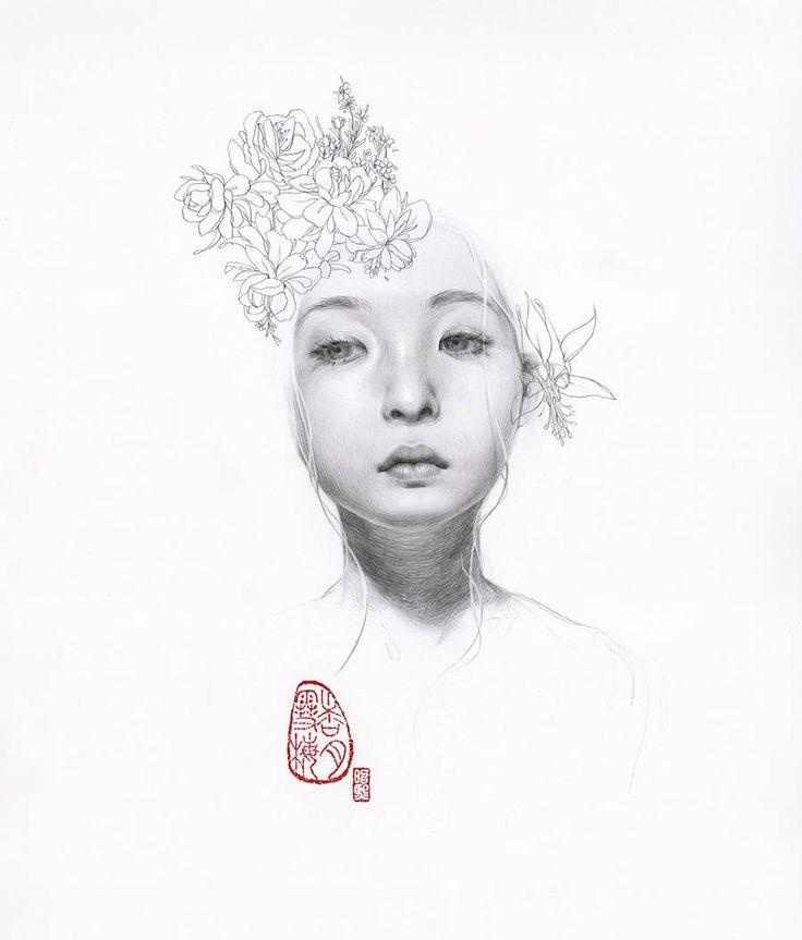Sensual and Mysterious Korean Women Portraits