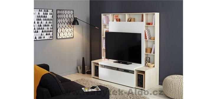 Moderní televizní stěna Watt 9812PATV