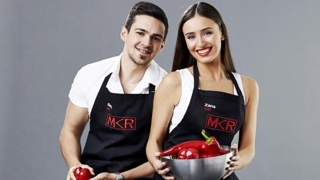 'My Kitchen Rules' Australia 2016: Mitch and Laura...: 'My Kitchen Rules' Australia 2016: Mitch and Laura open up… #MKR2016